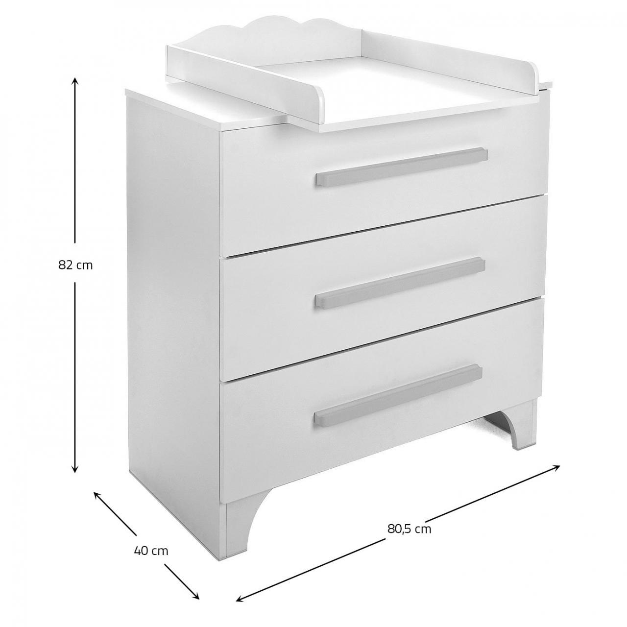 babyzimmer babybett mit wickelkommode gitterbett kinderbett komplett set neu ebay. Black Bedroom Furniture Sets. Home Design Ideas
