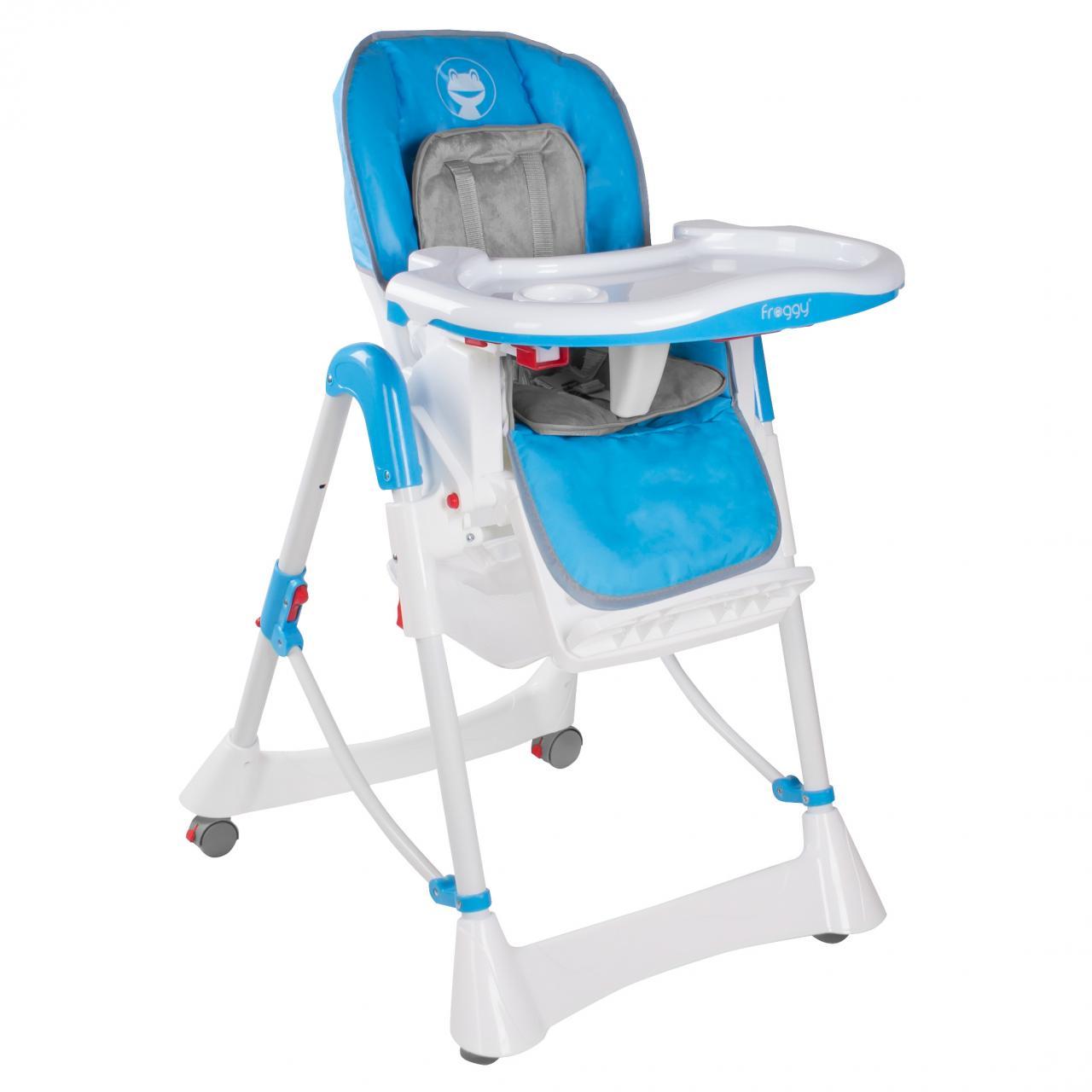 froggy kinderstuhl hochstuhl babystuhl verstellbar klappbar 3 sitzpositionen ebay. Black Bedroom Furniture Sets. Home Design Ideas