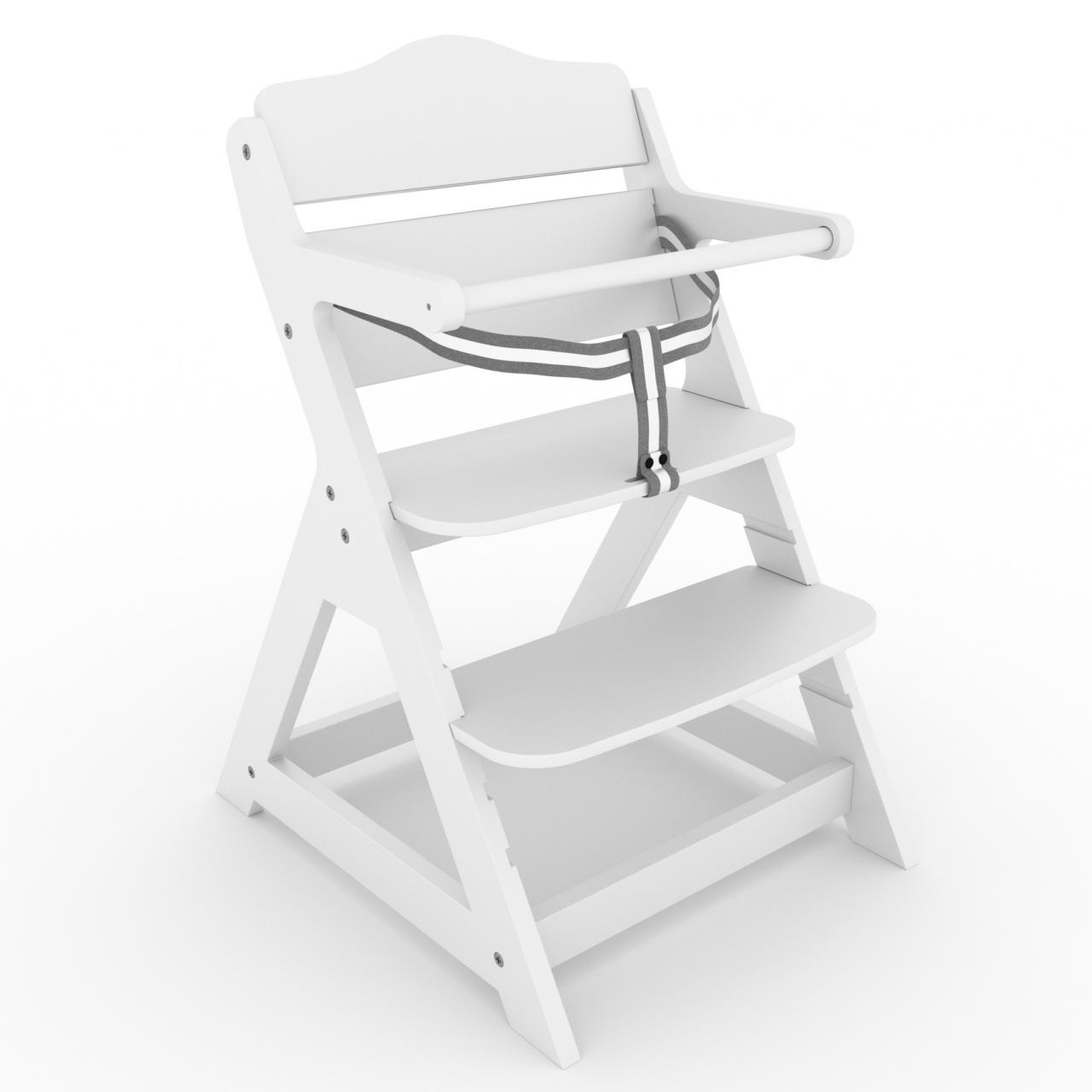 treppenhochstuhl kinderhochstuhl holz hochstuhl kinderstuhl babyhochstuhl stuhl ebay. Black Bedroom Furniture Sets. Home Design Ideas