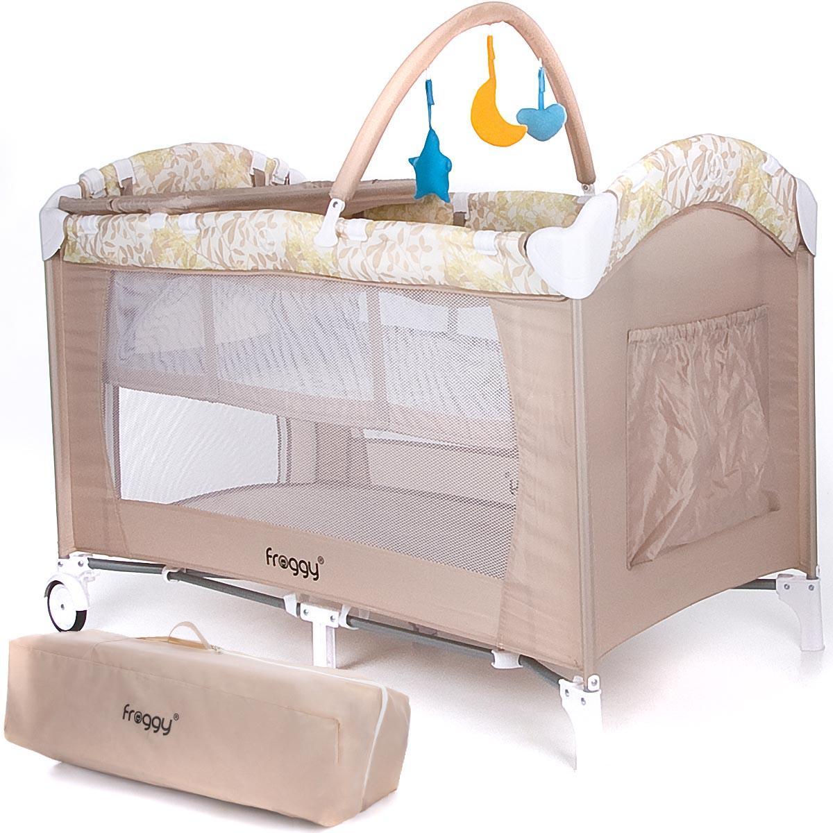 Kinderbett babybett klappbett laufstall reisebett for Kinderbett baby