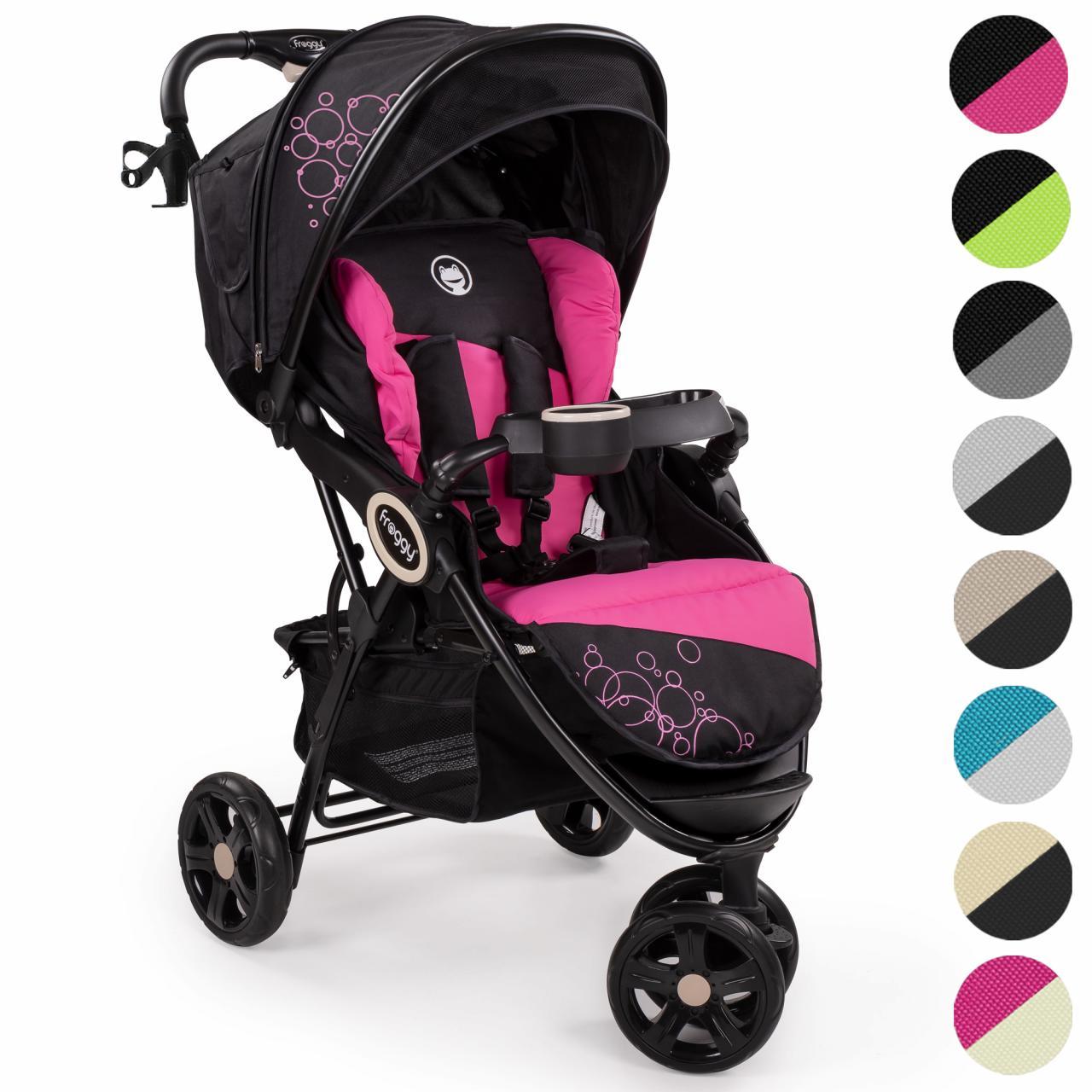 froggy kinderwagen dingo buggy sportwagen kinder babywagen 3 rad farbauswahl ebay. Black Bedroom Furniture Sets. Home Design Ideas