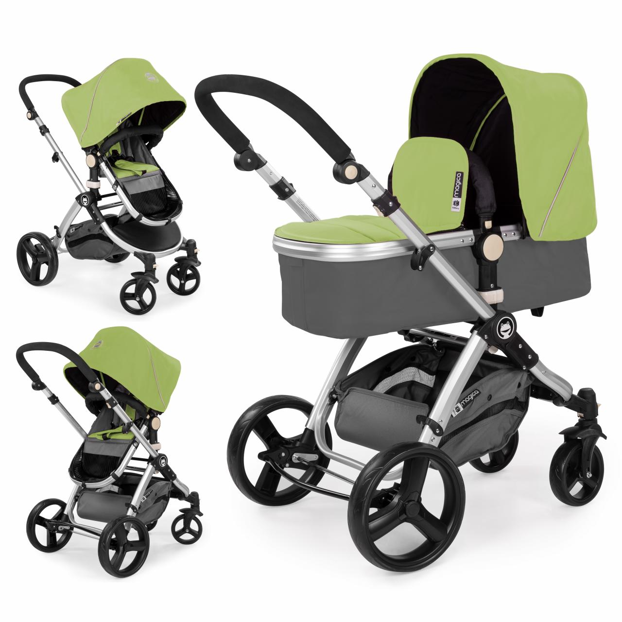 froggy kombikinderwagen sportwagen buggy kinderwagen magica design baby ebay. Black Bedroom Furniture Sets. Home Design Ideas