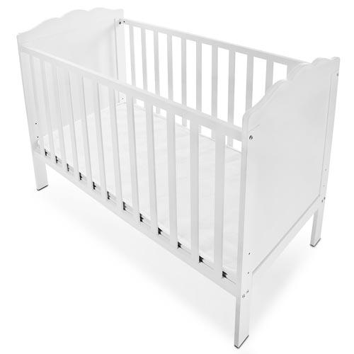 kinderbett babybett gitterbett mit matratze lattenrost h henverstellbar neu ebay. Black Bedroom Furniture Sets. Home Design Ideas