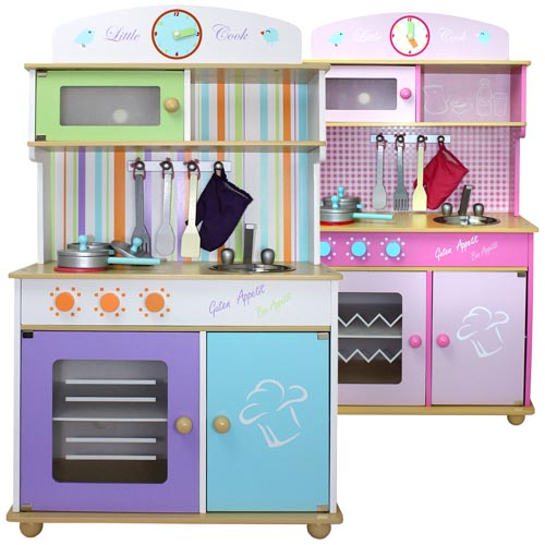 kinderk che spielk che aus holz kinderspielk che spielzeugk che holzk che k che ebay. Black Bedroom Furniture Sets. Home Design Ideas