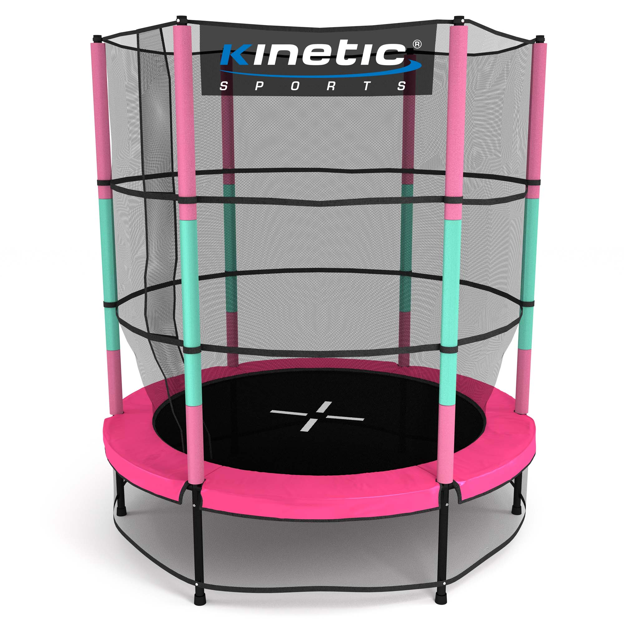 kinder trampolin indoor outdoor garten 140cm mit. Black Bedroom Furniture Sets. Home Design Ideas