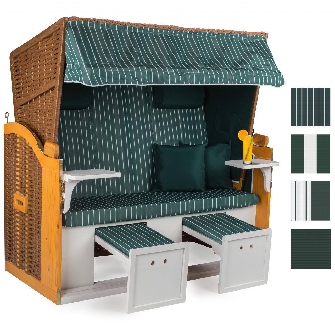 160cm premium strandkorb nordsee sonnenliege volllieger gartenm bel gartenliege ebay. Black Bedroom Furniture Sets. Home Design Ideas