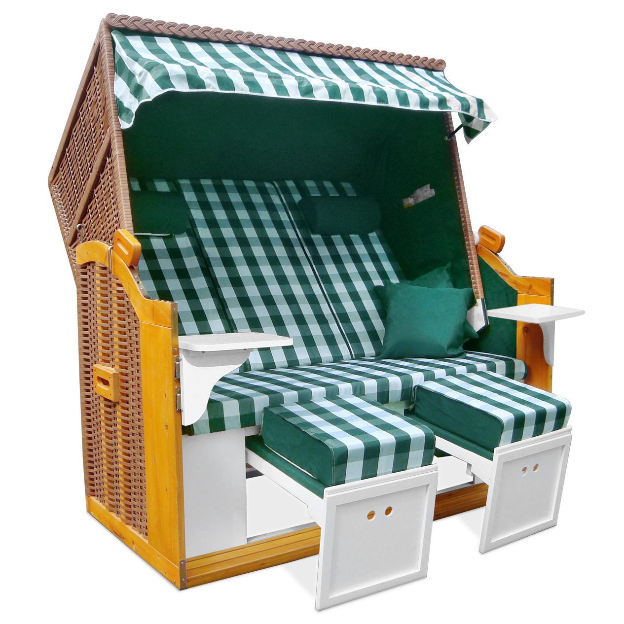 strandkorb 160cm premium ostsee volllieger xxl hollywoodschaukel zubeh r gr. Black Bedroom Furniture Sets. Home Design Ideas