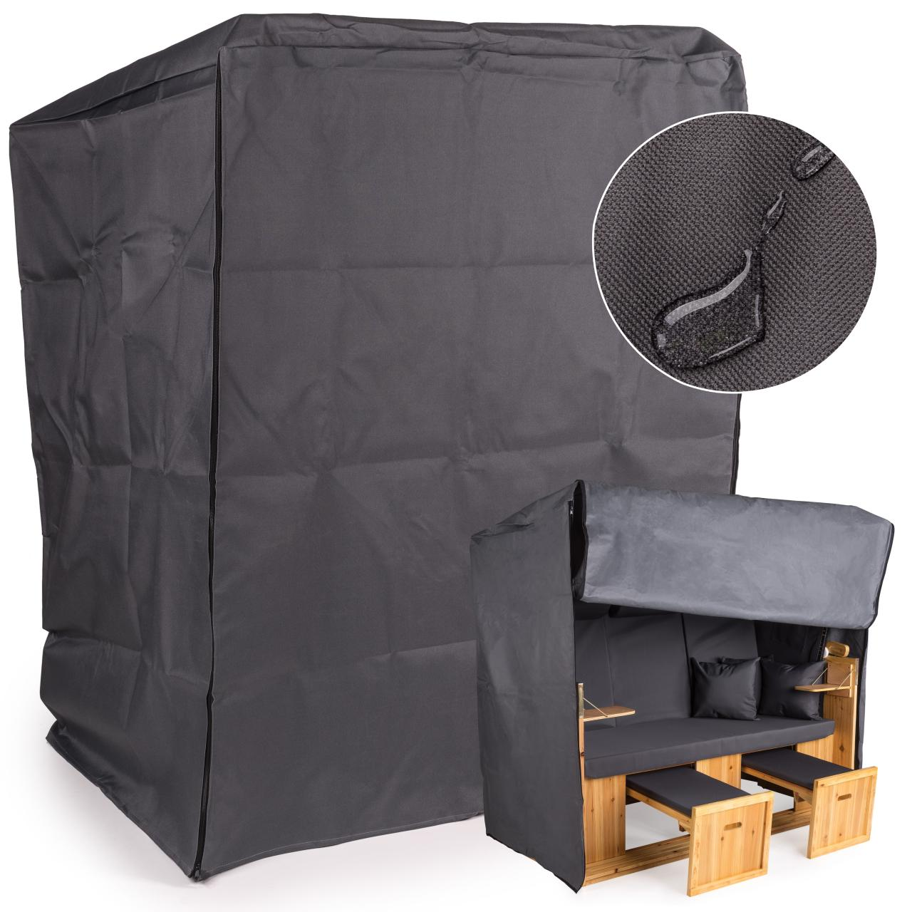 schutzh lle f r strandkorb regenabdeckung abdeckplane. Black Bedroom Furniture Sets. Home Design Ideas