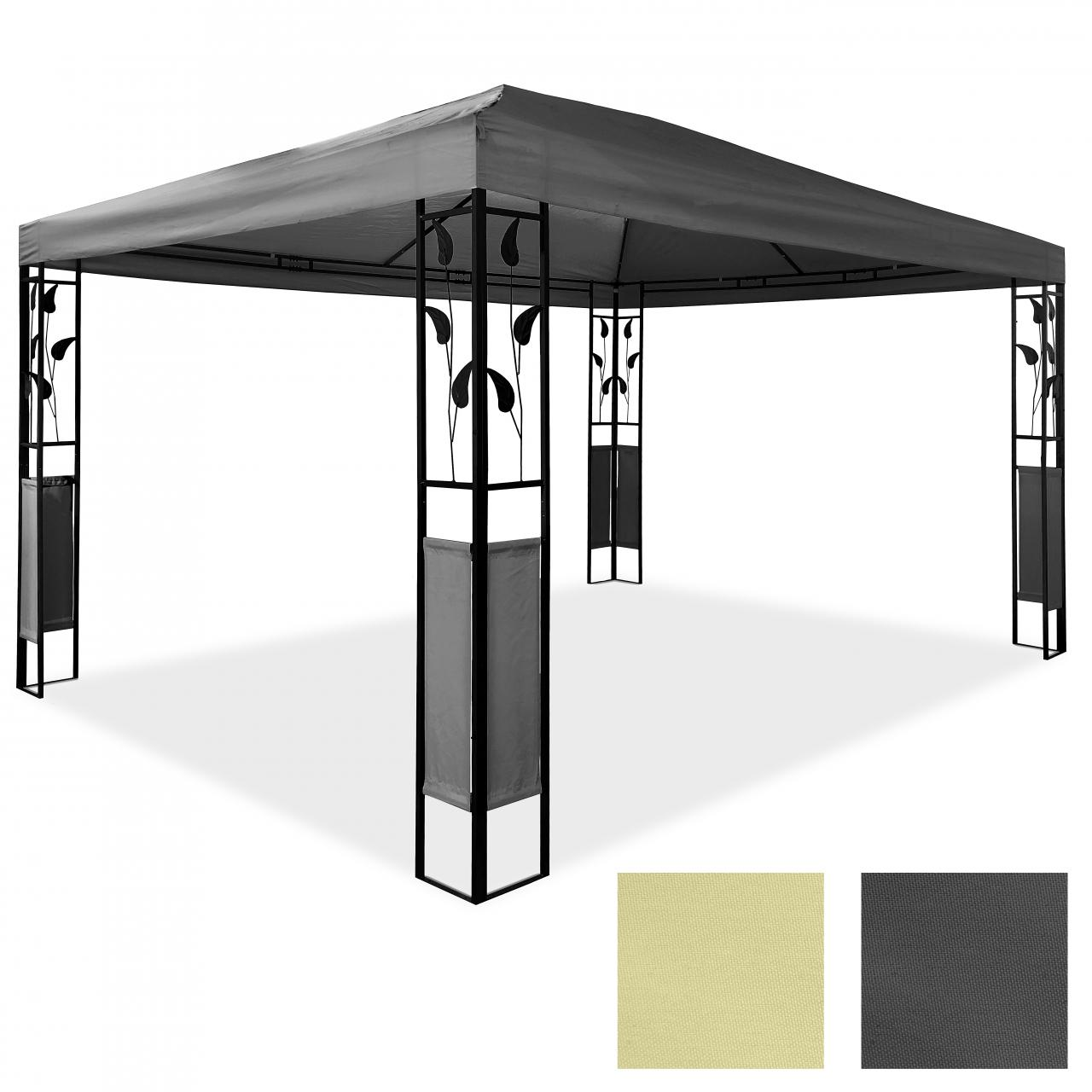 pavillon 3 x 4 m design gartenpavillon gartenzelt festzelt pavilion metall ebay. Black Bedroom Furniture Sets. Home Design Ideas