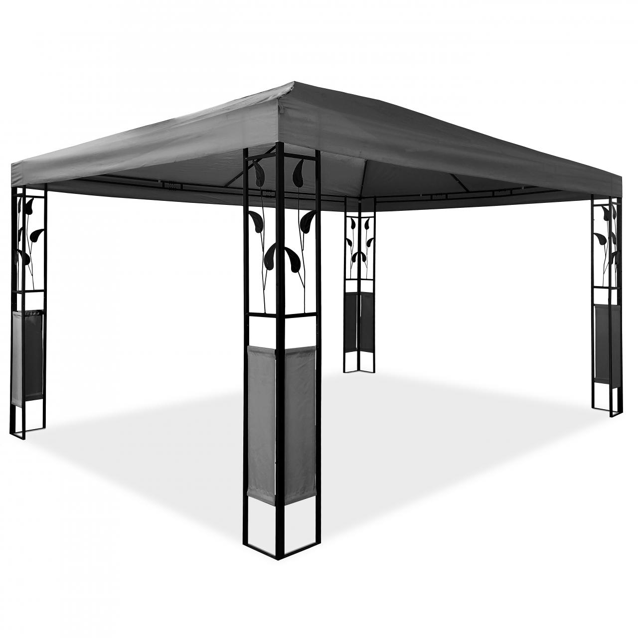 pavillon 3 x 4 m design gartenpavillon gartenzelt festzelt. Black Bedroom Furniture Sets. Home Design Ideas