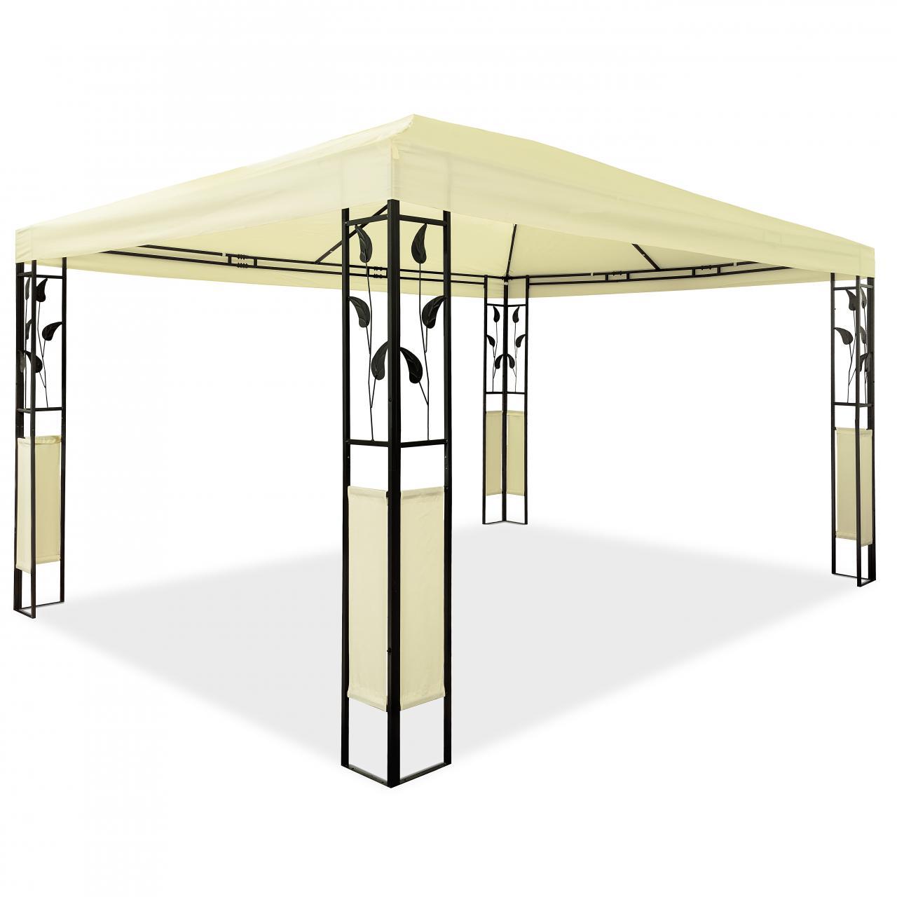 Gartenzelt 3x4 Wasserdicht : Pavillon m design gartenpavillon gartenzelt festzelt
