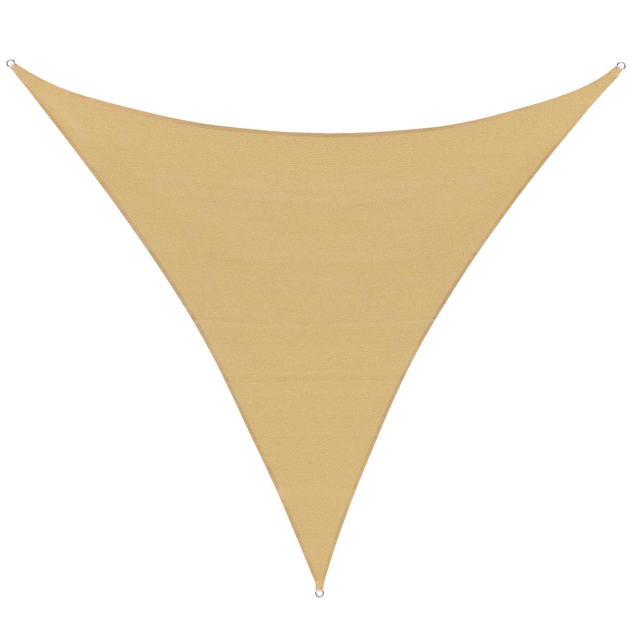 sonnensegel sonnenschutz garten sonnendach uv schutz beschattung dreieck ebay. Black Bedroom Furniture Sets. Home Design Ideas