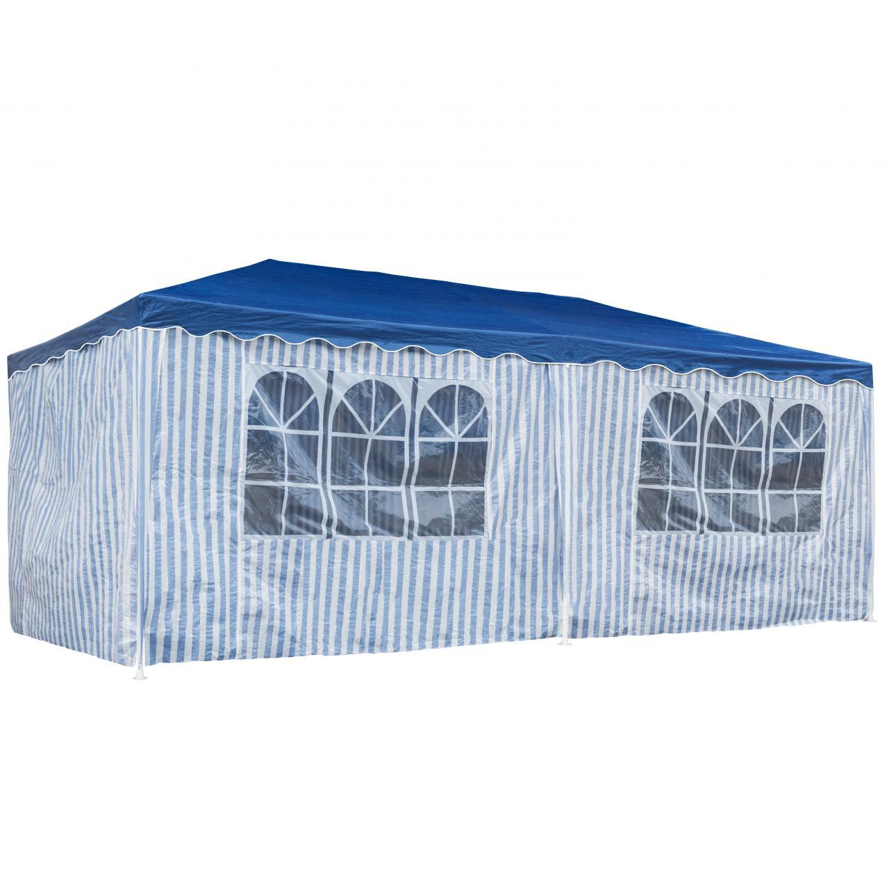 Partyzelt-Festzelt-3x6m-Gartenpavillon-Gartenzelt-Bierzelt-Zelt-Pavillon