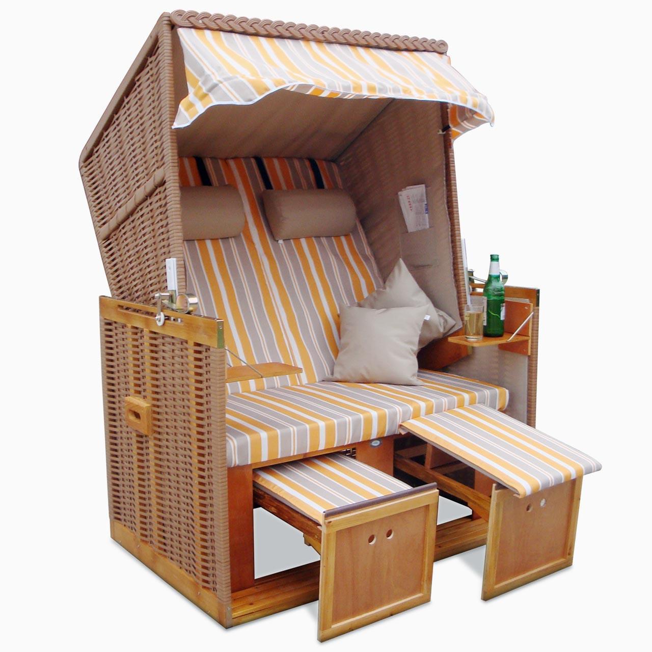 xxl premium strandkorb nordsee sonnenliege volllieger gartenm bel gartenliege ebay. Black Bedroom Furniture Sets. Home Design Ideas