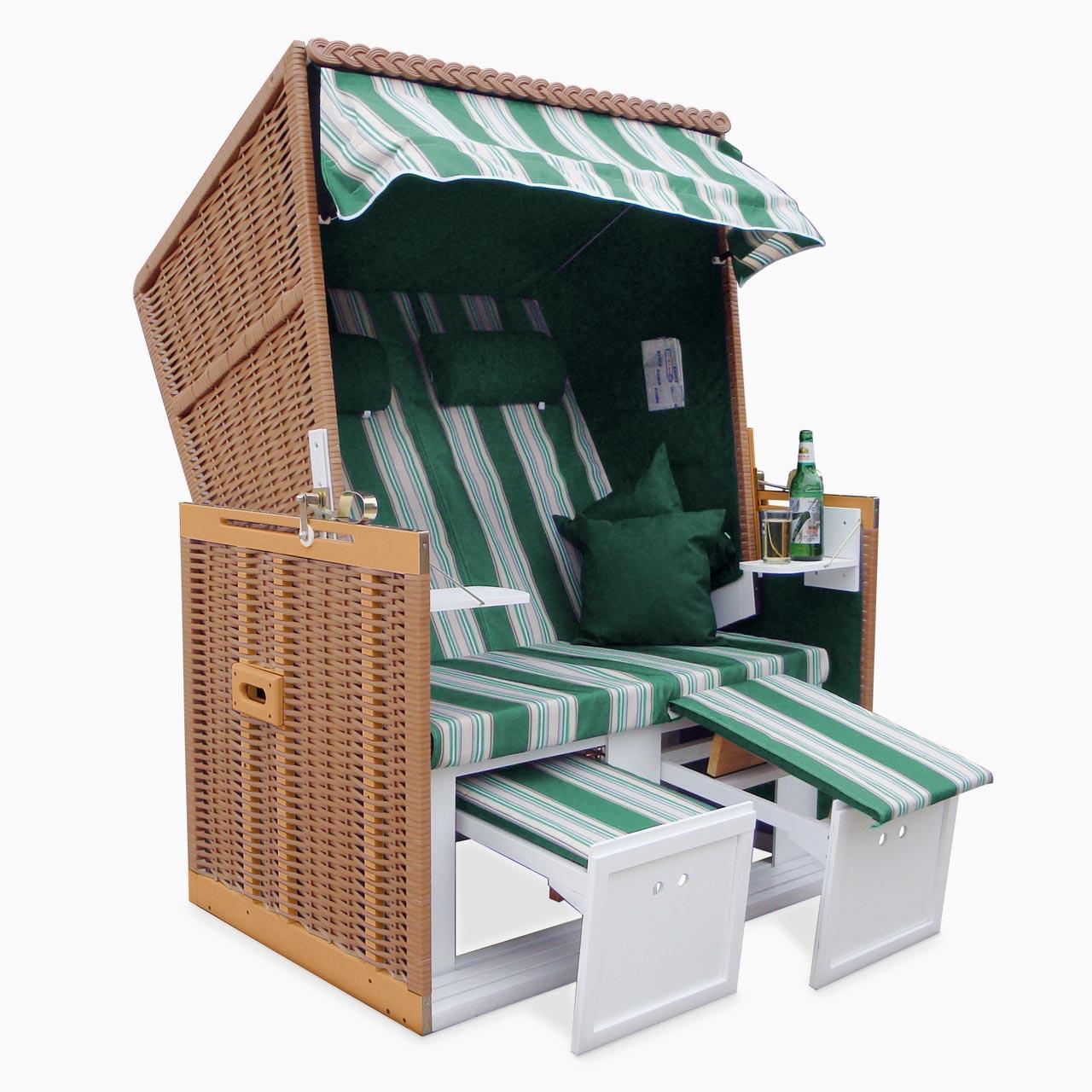 strandkorb xxl premium nordsee volllieger gartenm bel gartenliege sonnenliege ebay. Black Bedroom Furniture Sets. Home Design Ideas