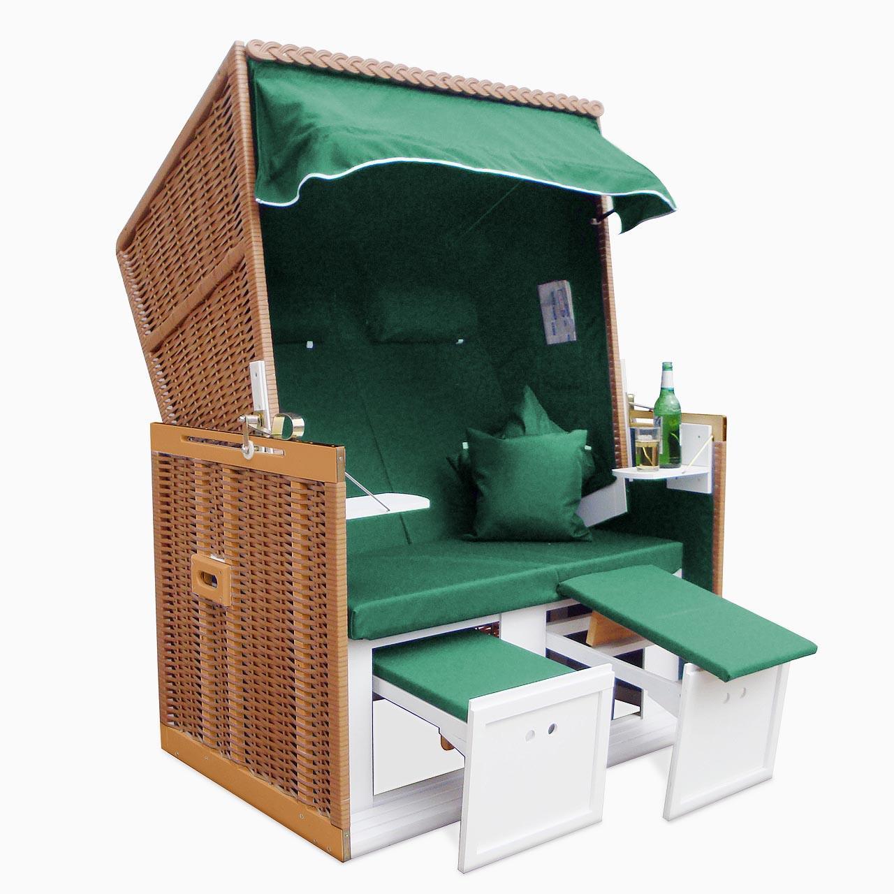 xxl premium nordsee strandkorb volllieger gartenm bel gartenliege sonnenliege. Black Bedroom Furniture Sets. Home Design Ideas