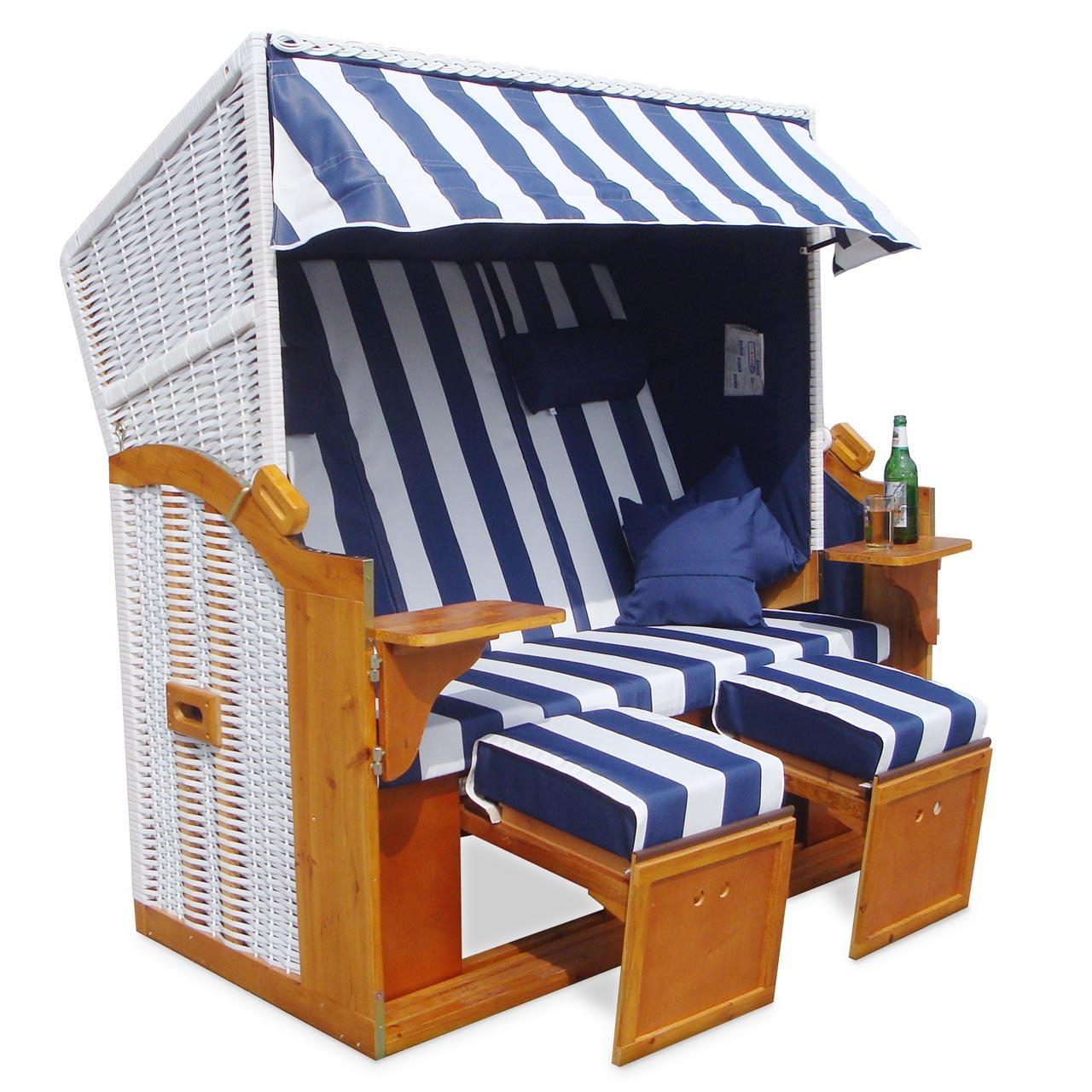 strandkorb 160cm premium nordsee volllieger gartenm bel gartenliege sonnenliege ebay. Black Bedroom Furniture Sets. Home Design Ideas