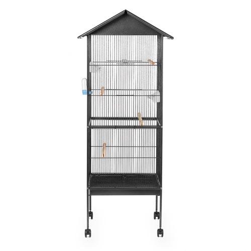 vogelk fig bd006 xl voliere k fig vogelvoliere mit futtern pfe wasserspender neu ebay. Black Bedroom Furniture Sets. Home Design Ideas