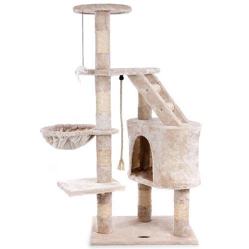 kratzbaum cat017 2 kletterbaum katzenbaum katzenkratzbaum katzen mittelgross ebay. Black Bedroom Furniture Sets. Home Design Ideas