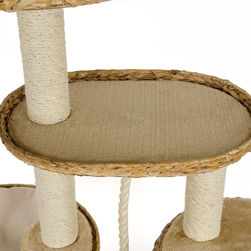 kratzbaum bl4 2 luxus banana leaf deluxe katzenkratzbaum. Black Bedroom Furniture Sets. Home Design Ideas