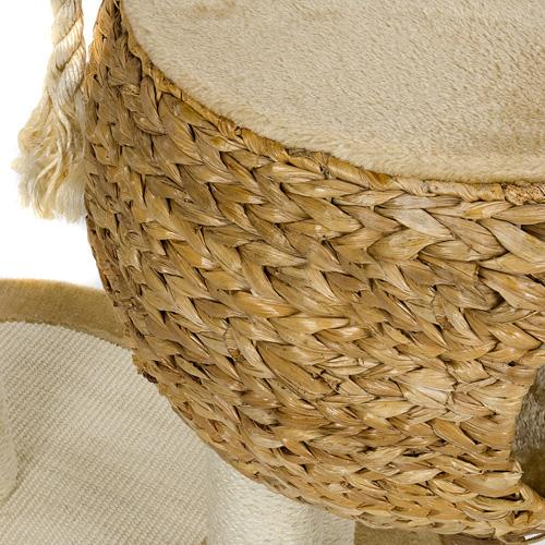 kratzbaum bl4 2 luxus banana leaf deluxe katzenkratzbaum sisal kletterbaum neu ebay. Black Bedroom Furniture Sets. Home Design Ideas