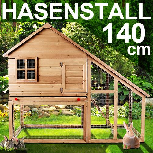 xxl hasenstall kaninchenstall kleintierstall hasenk fig kaninchen stall neu ebay. Black Bedroom Furniture Sets. Home Design Ideas