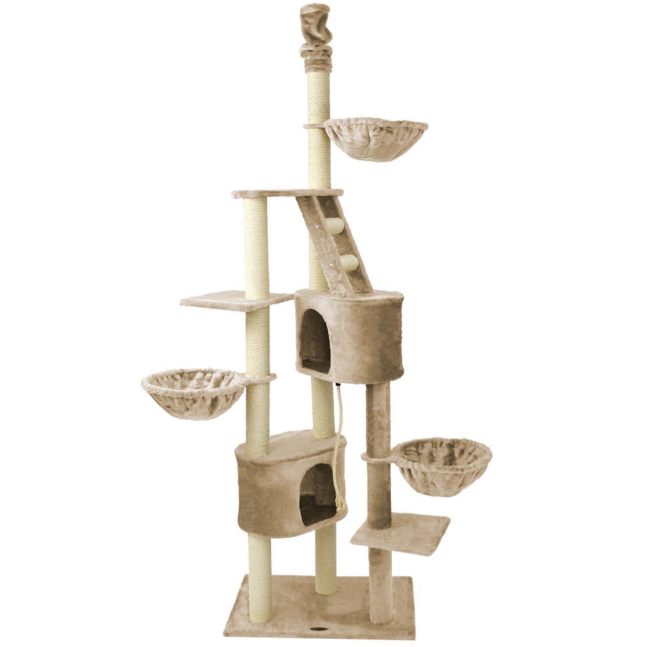 xxl kratzbaum cat009 premium katzenkratzbaum katzenbaum katzen farbwahl ebay. Black Bedroom Furniture Sets. Home Design Ideas