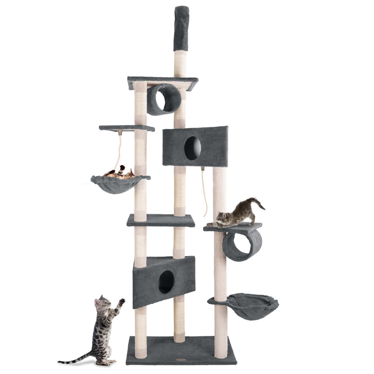 kratzbaum katzenkratzbaum kletterbaum f r katzen katzenbaum sisal deckenhoch ebay. Black Bedroom Furniture Sets. Home Design Ideas
