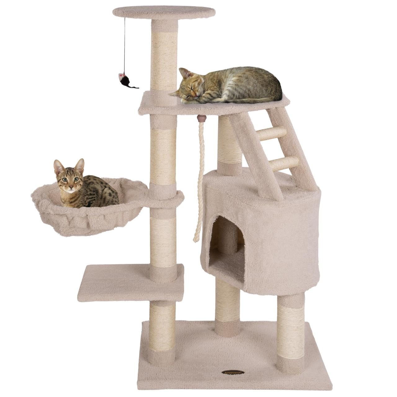 cat tree furniture scratching post activity centre climbing toy medium sized. Black Bedroom Furniture Sets. Home Design Ideas