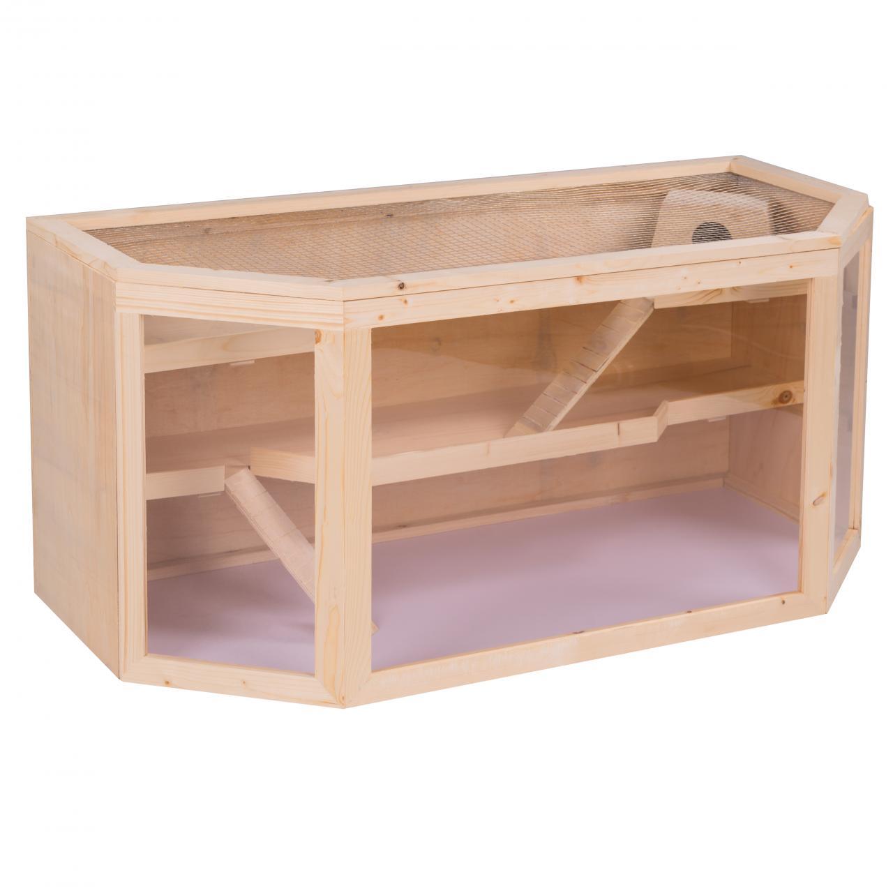 kleintierk fig nagerk fig hamsterk fig rattenk fig m usek fig nagerstall holz ebay. Black Bedroom Furniture Sets. Home Design Ideas