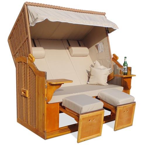 strandkorb 160cm xxl nordsee volllieger gartenm bel. Black Bedroom Furniture Sets. Home Design Ideas