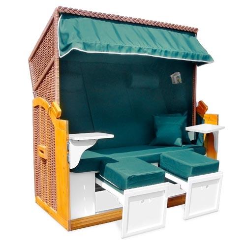 strandkorb 160cm xxl nordsee volllieger gartenm bel gartenliege sonnenliege ebay. Black Bedroom Furniture Sets. Home Design Ideas