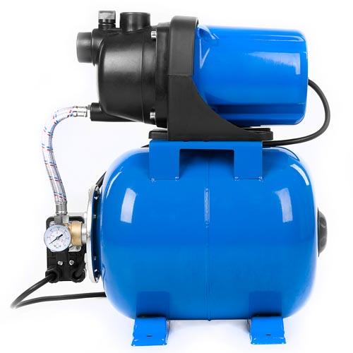 Hauswasserwerk-1200-Watt-Pumpe-Wasserpumpe-Gartenpumpe-Motorpumpe-Teichpumpe
