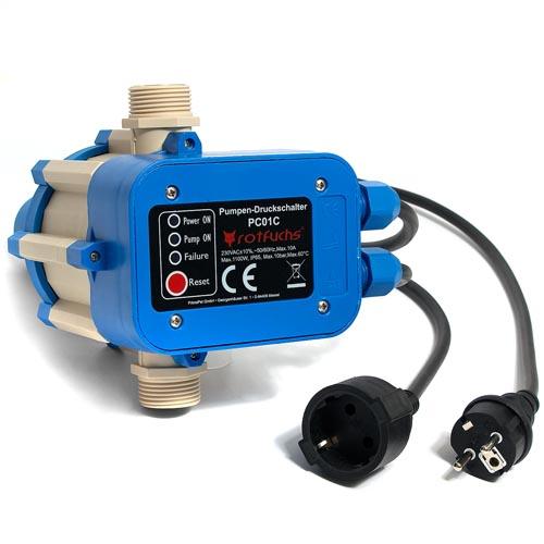 pumpensteuerung pumpe druckschalter hauswasserwerk pumpenschalter druckregler ebay. Black Bedroom Furniture Sets. Home Design Ideas