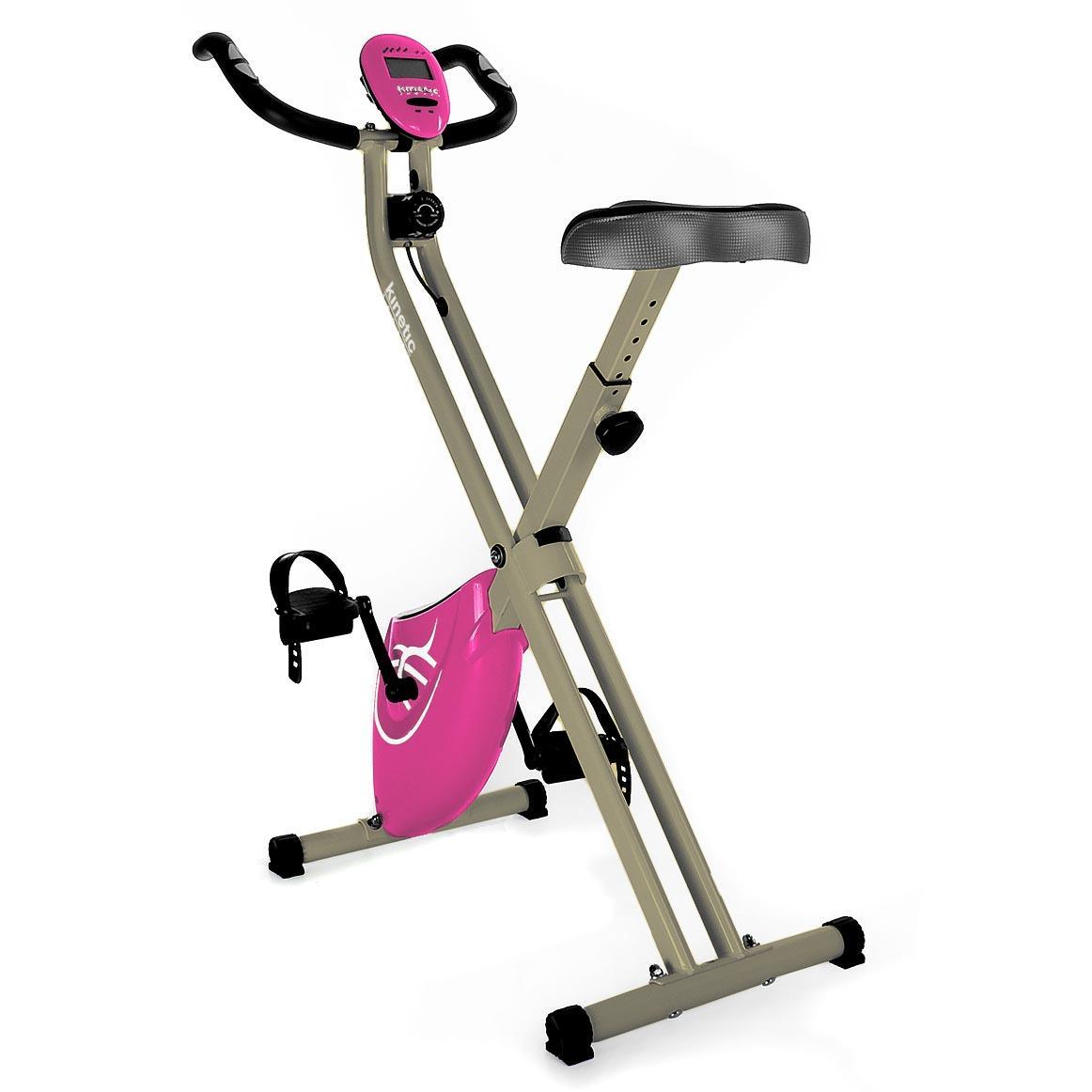 Fitnessgerät Ergometer Trimmrad Fahrrad X-Bike Cardio klappbar Heimtrainer