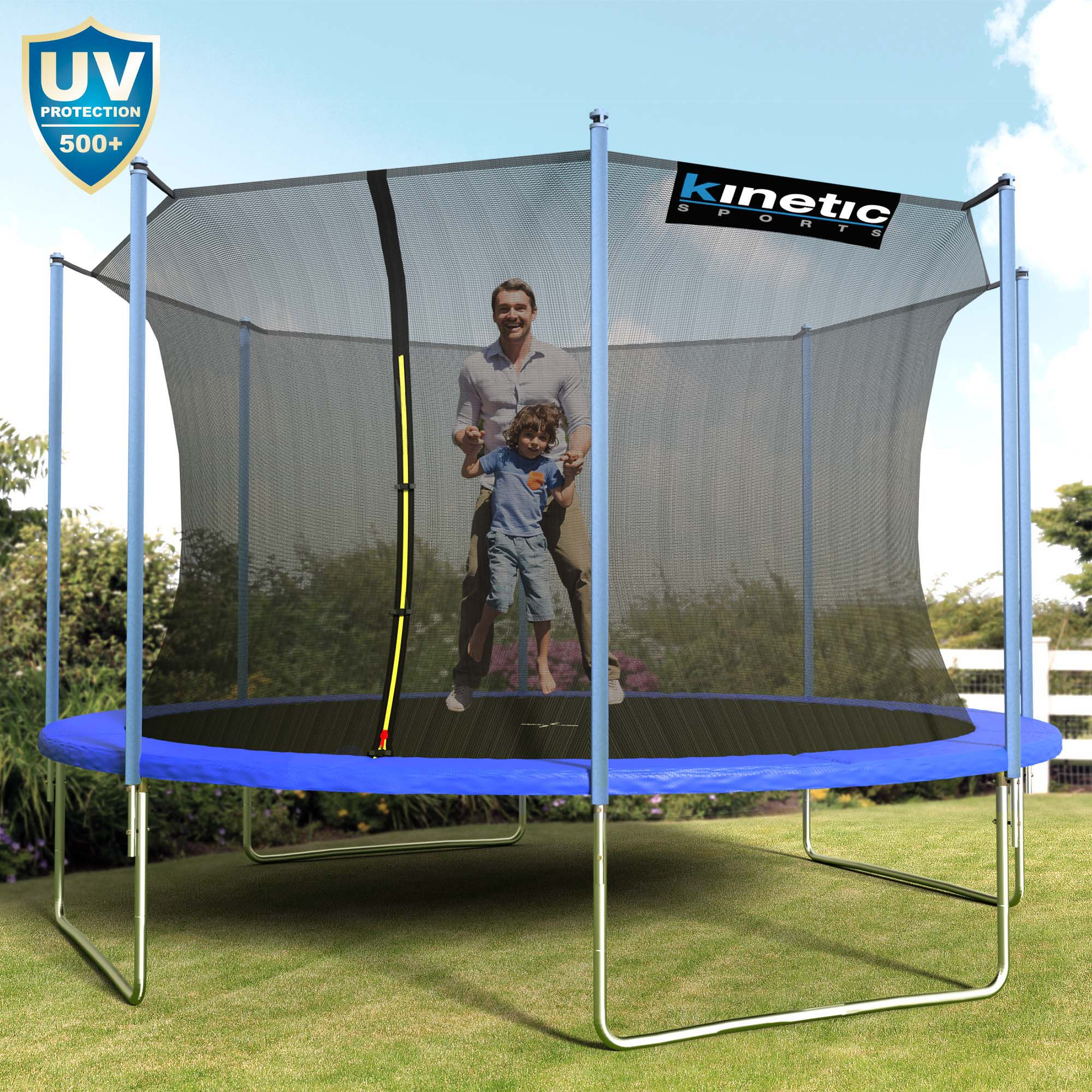 trampolin set gartentrampolin outdoor mit sicherheitsnetz randabdeckung ebay. Black Bedroom Furniture Sets. Home Design Ideas