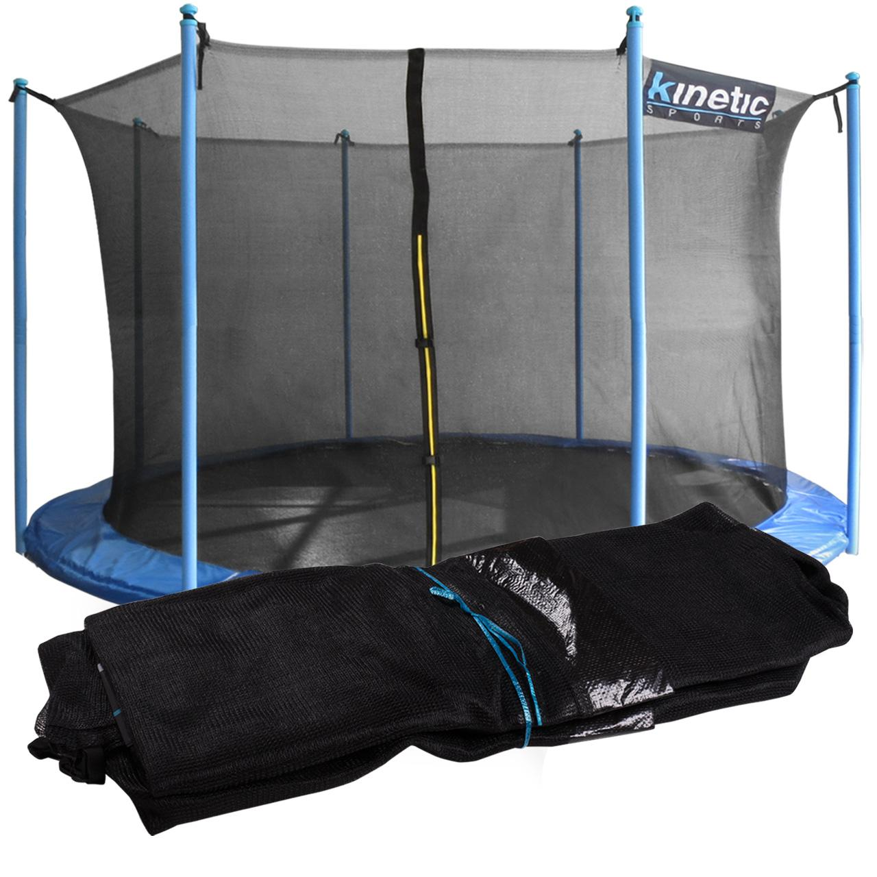 kinetic sports universal sicherheitsnetz f r trampoline. Black Bedroom Furniture Sets. Home Design Ideas
