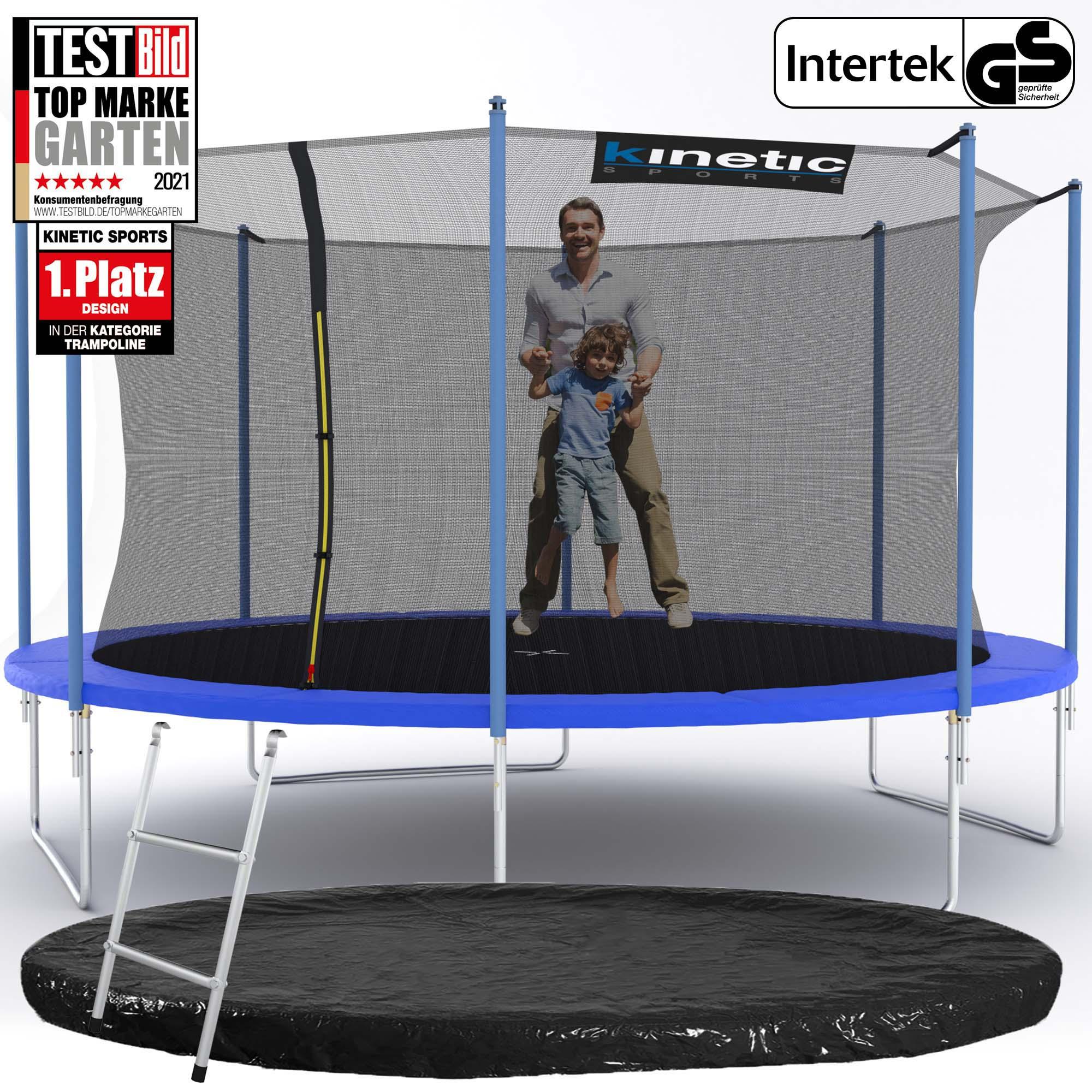 trampolin komplett set netz randabdeckung leiter abdeckplane outdoor garten ebay. Black Bedroom Furniture Sets. Home Design Ideas