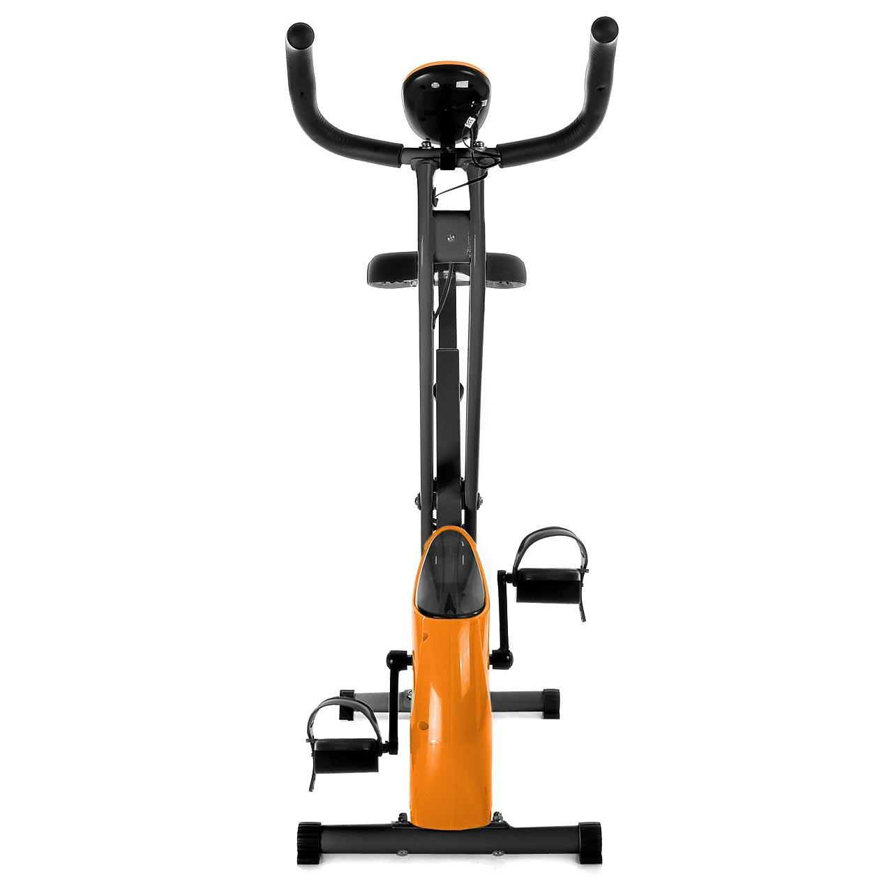 fitnessger t ergometer trimmrad fahrrad x bike cardio klappbar heimtrainer ebay. Black Bedroom Furniture Sets. Home Design Ideas