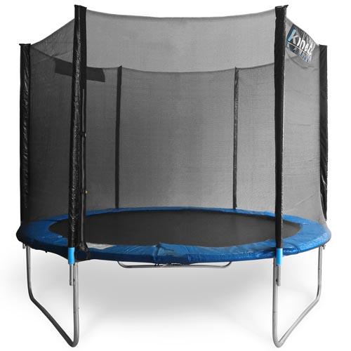 Kinetic trampolin 4 90m gartentrampolin mit sicherheitsnetz 490cm komplettset ebay - Gartentrampolin test stiftung warentest ...
