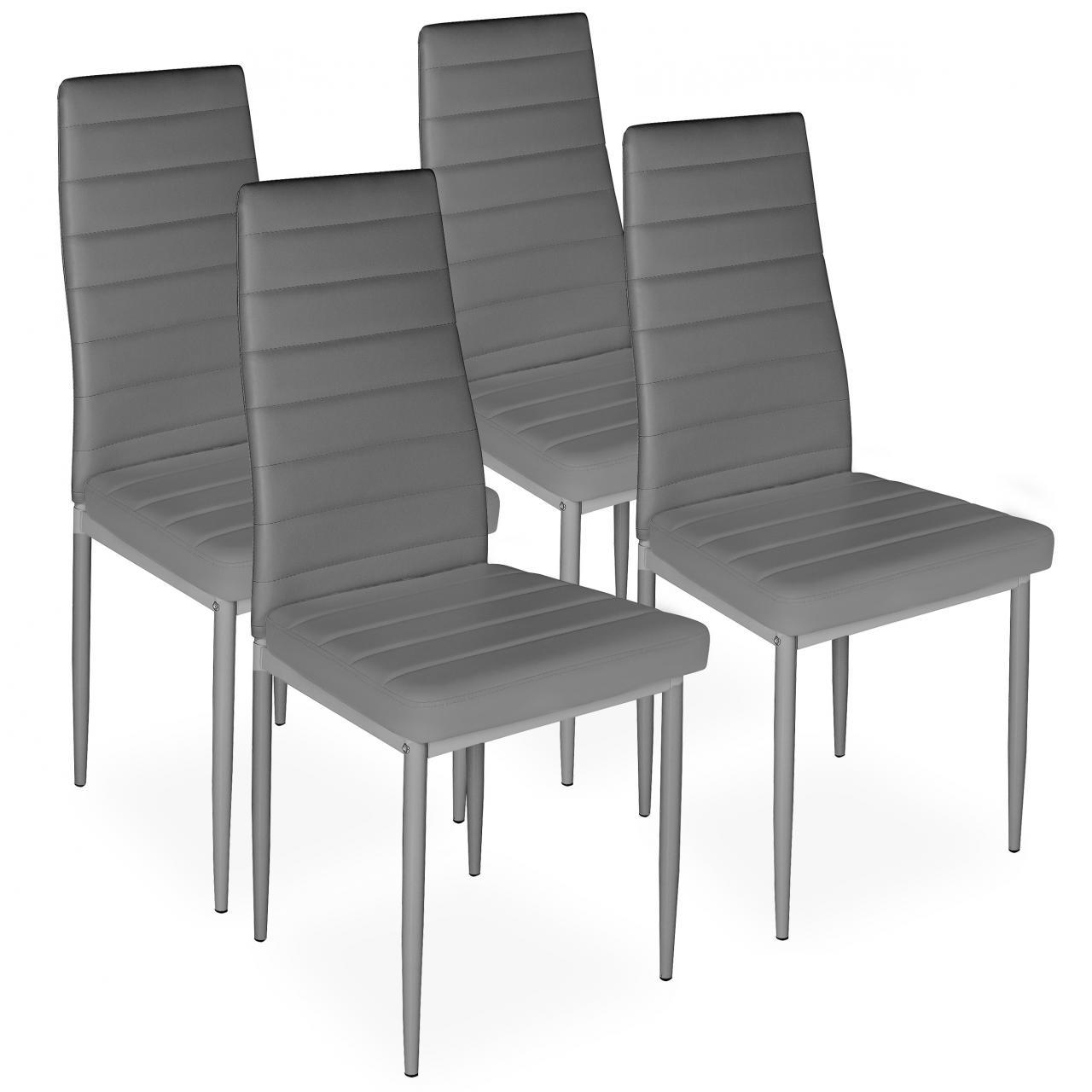Upholstered Kitchen Stools Uk: 4 Piece Dining Chair Set Upholstered Chair Kitchen Dining