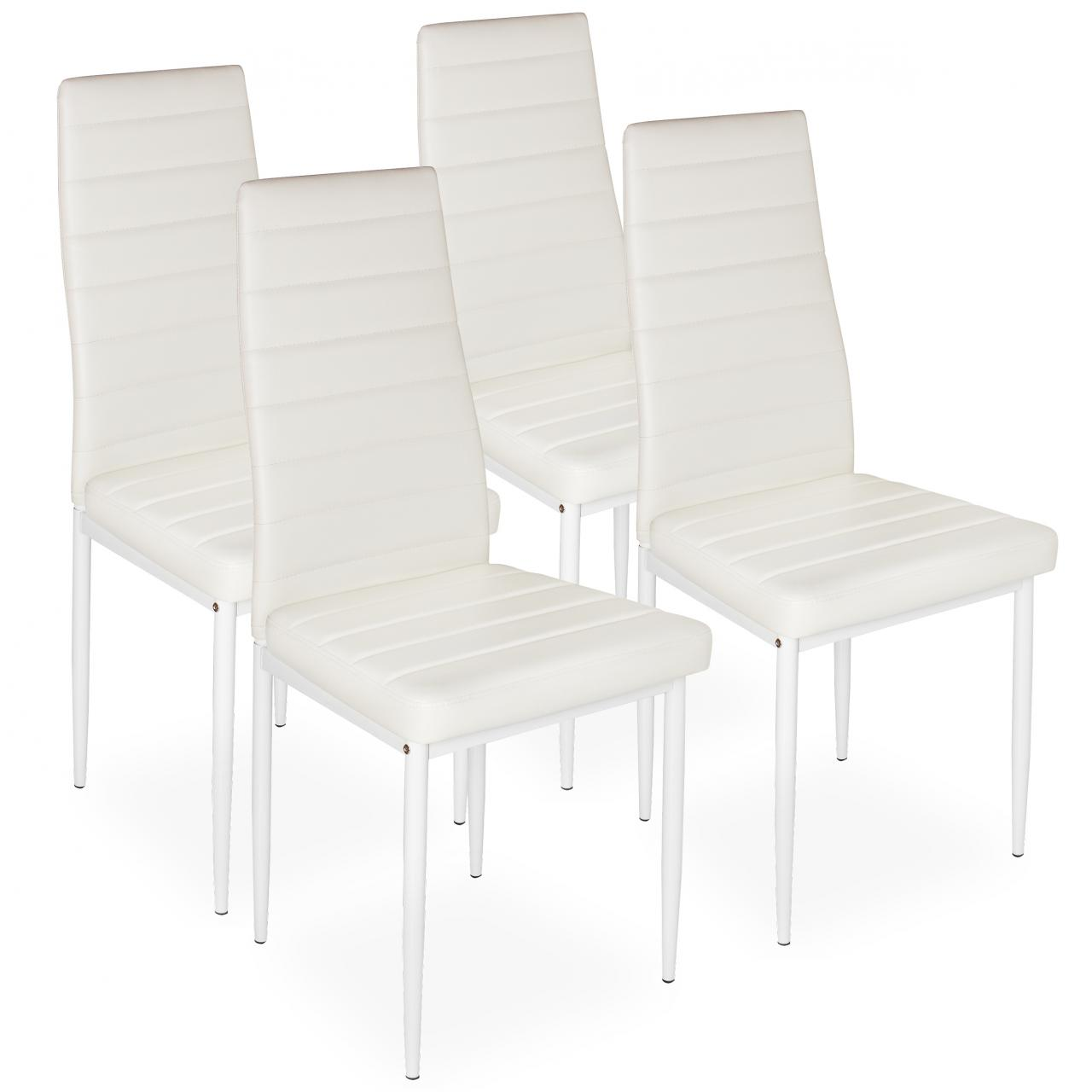 4 Piece Dining Chair Set Upholstered Chair Kitchen Dining