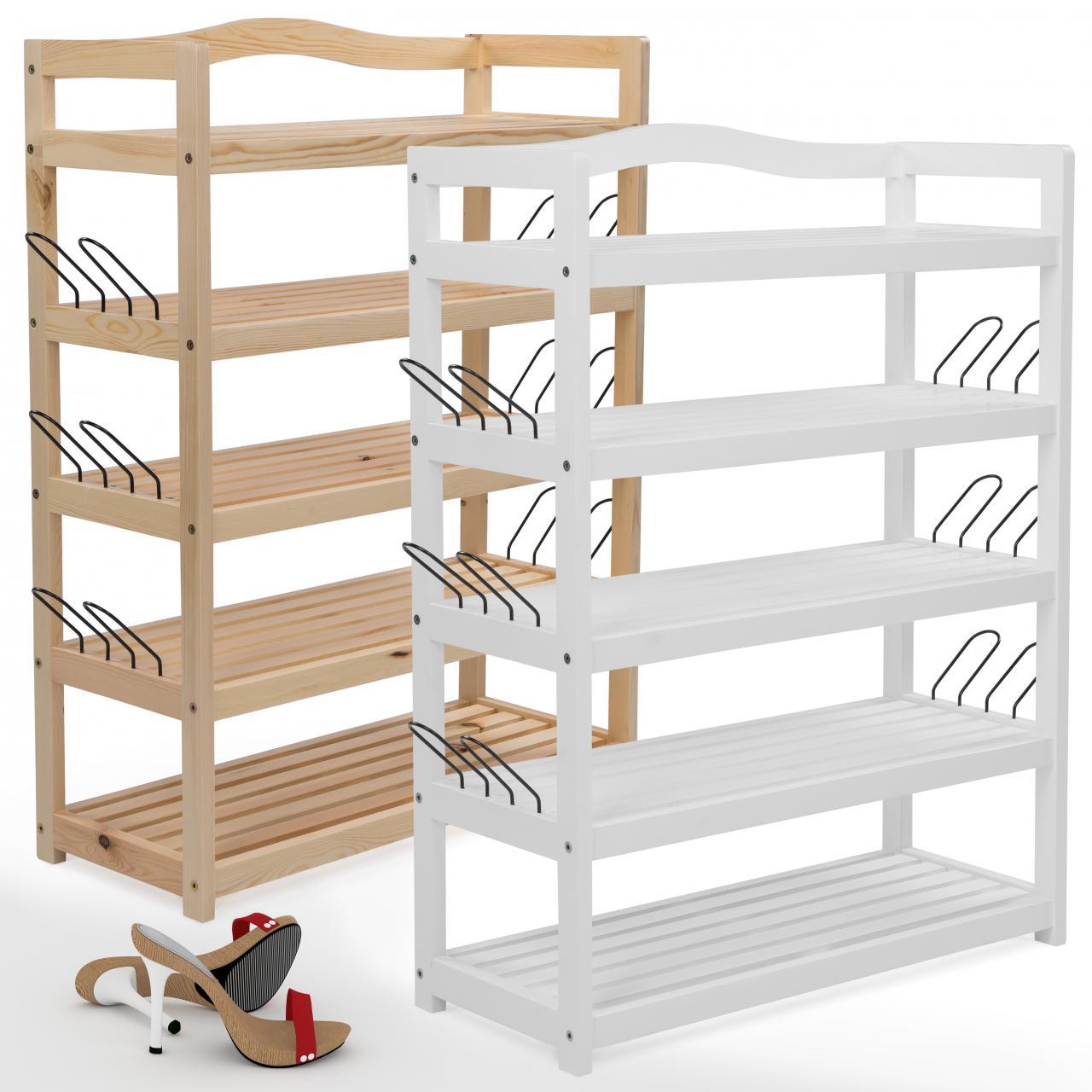 schuhregal schuhschrank schuhbank schuhst nder schuh regal holz schuhablage ebay. Black Bedroom Furniture Sets. Home Design Ideas