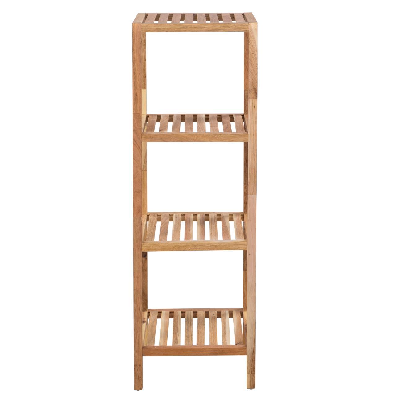 badregal holz badezimmerregal regal bad holzregal. Black Bedroom Furniture Sets. Home Design Ideas