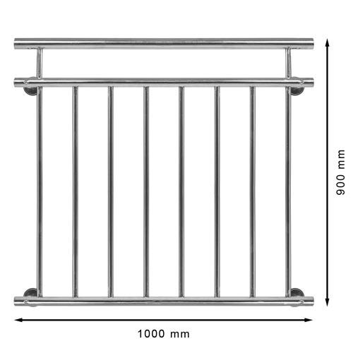 inox franz sischer balkon edelstahl kaufen auf. Black Bedroom Furniture Sets. Home Design Ideas
